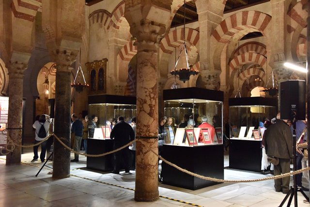 Exposición de manuscritos mozárabes en la Mezquita-Catedral de Córdoba