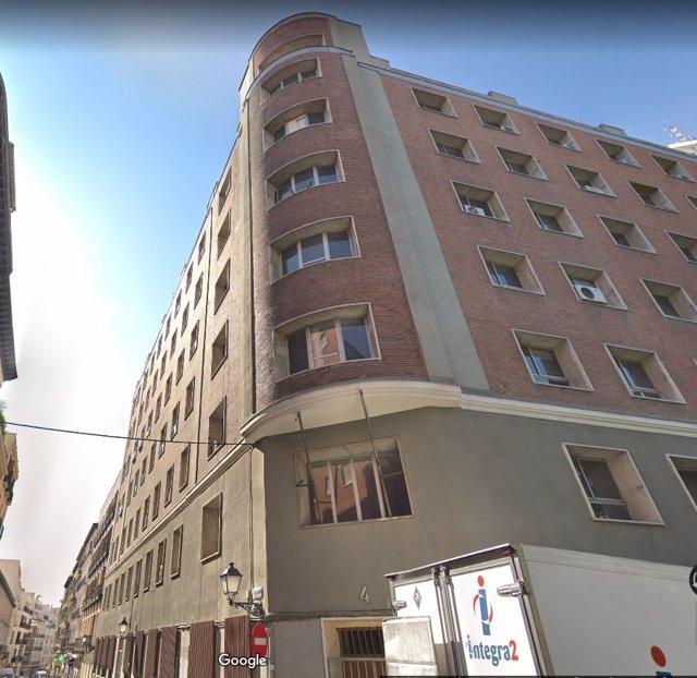 Nuevo edificio okupado por Hogar Social Madrid en Malasaña