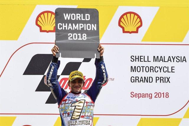 Jorge Martín campeón mundo Moto3 Malasia Sepang