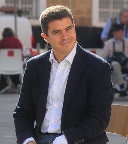 Sergio Romero, de Ciudadanos en un acto
