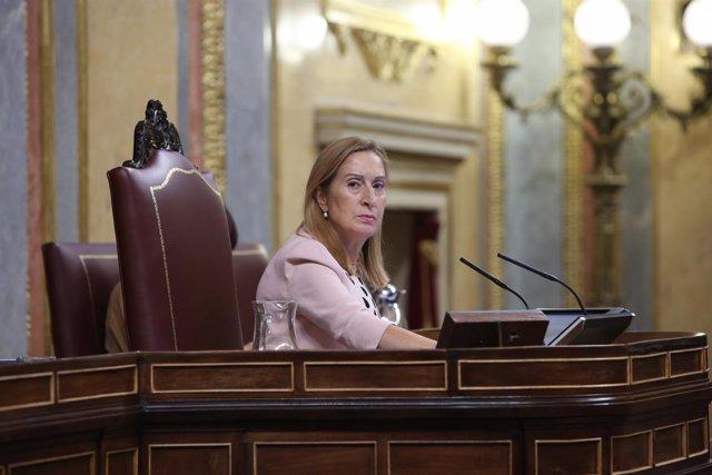 Sesión Plenaria en el Congreso de los Diputados para la toma en consideración de