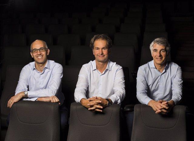 Esteve Agustí, Jordi Agustí y Joan Agustí (Ocine)