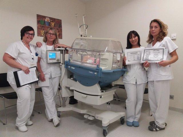 La UCI Neonatal del Hospital Santa Lucía