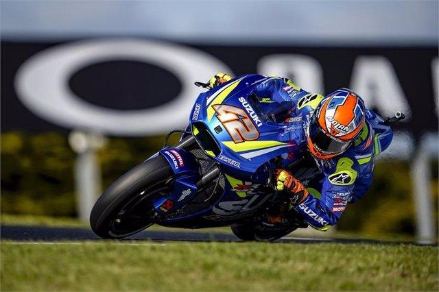 El piloto español Alex Rins