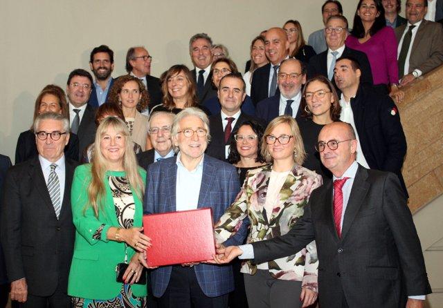 Equipo de candidatura de Josep Sánchez Llibre para Fomento del Trabajo