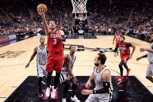 New Orleans Pelicans Nikola Mirotic San Antonio Spurs