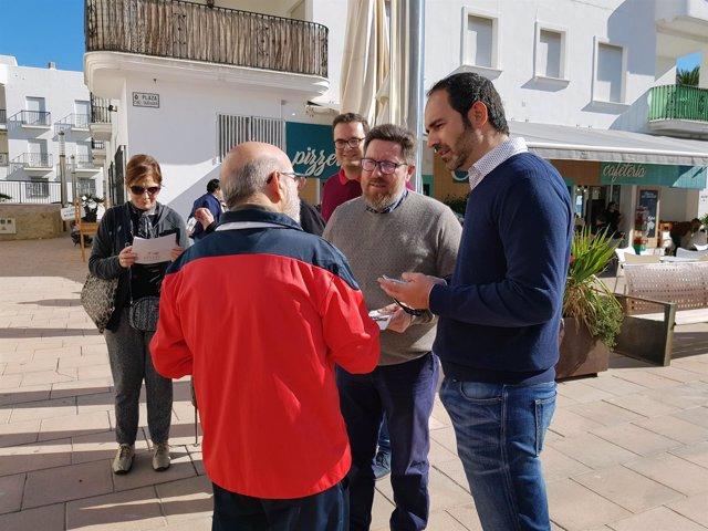 El candidato del PSOE de Almería al Parlamento andaluz