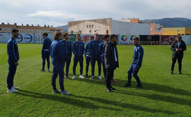 Varios futbolistas del Écija Balompié