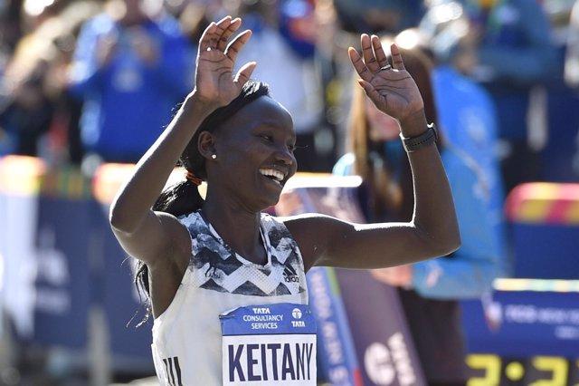 La atleta keniata Mary Keitany