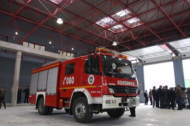 Camión de bomberos de Málaga