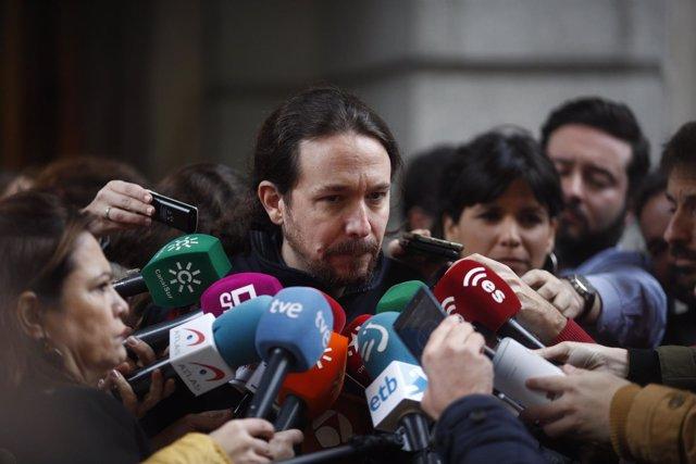 """Reunión de Unidos Podemos con los candidatos de """"Adelante Andalucía"""" a la Junta"""