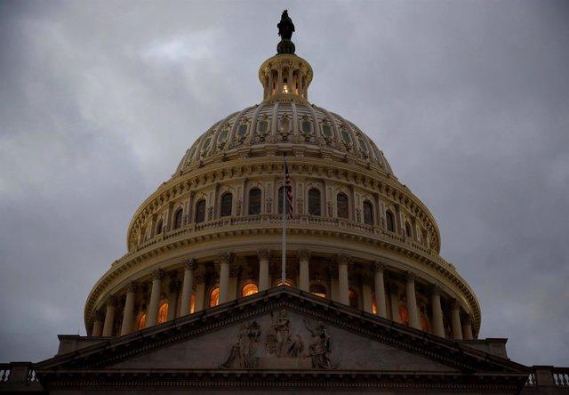 Edificio del Capilotio, sede del Congreso de Estados Unidos