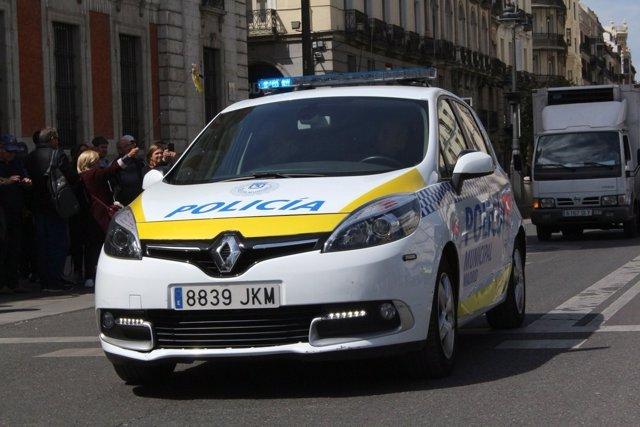Coche de Policía Municipal de Madrid
