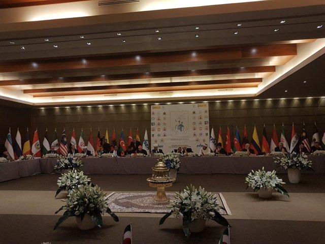 Inauguración de la III Conferencia Internacional sobre las Religiones