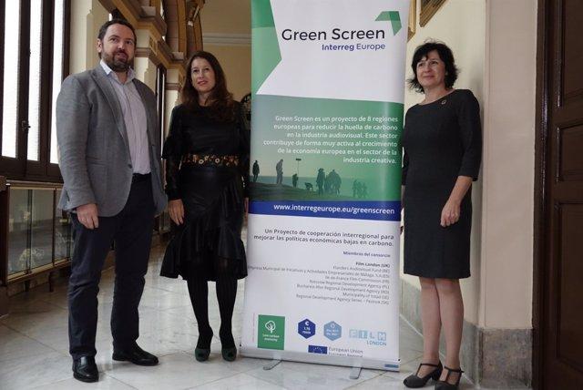 Interreg proyecto Green Screen medio ambiente y sostenibilidad en rodajes cine t