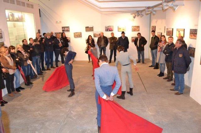 Exposición fotográfica de la Escuela Taurina de Badajoz