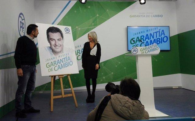 Presentación de la imagen de campaña del PP-A