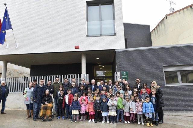 Inauguración colegio de Medrano