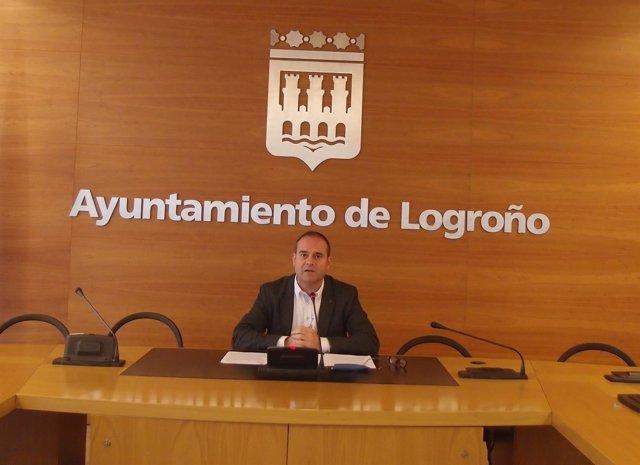 El concejal de Tráfico Francisco Iglesias