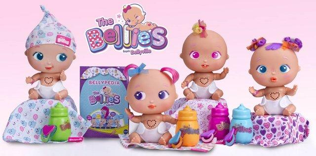 The Bellies, la nueva marca de muñecas de Famosa