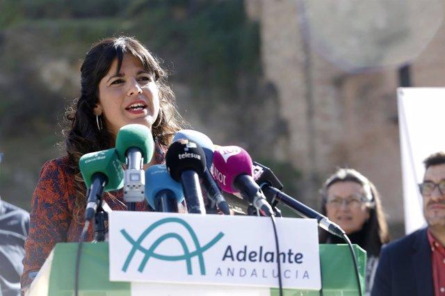 Teresa Rodríguez en Málaga