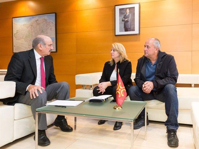 Mazón se reúne con la alcaldesa de Entrambasaguas