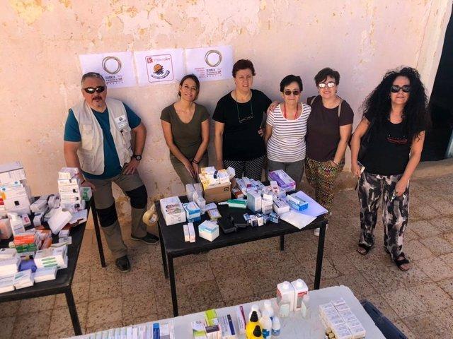 Alianza de Municipios del Sur envía medicinas al Sáhara