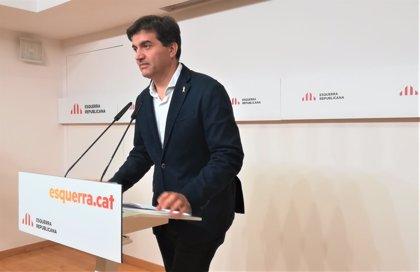 """ERC critica que PP y Cs """"no son capaces de mirar a los ojos"""" a los presos soberanistas"""
