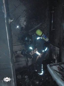 Incendio en un hotel de Cudillero