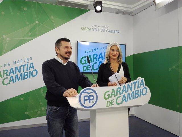 Toni Martín y Patricia del Pozo