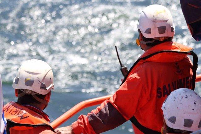 Efectivos de Salvamento Marítimo