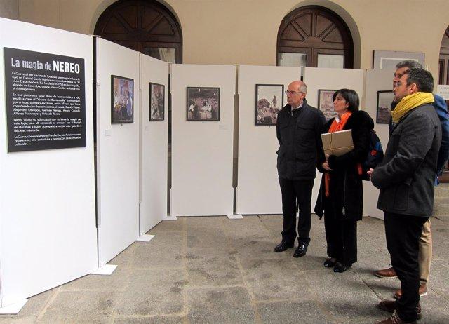 Inauguración De La Exposición En Salamanca 5-11-2018