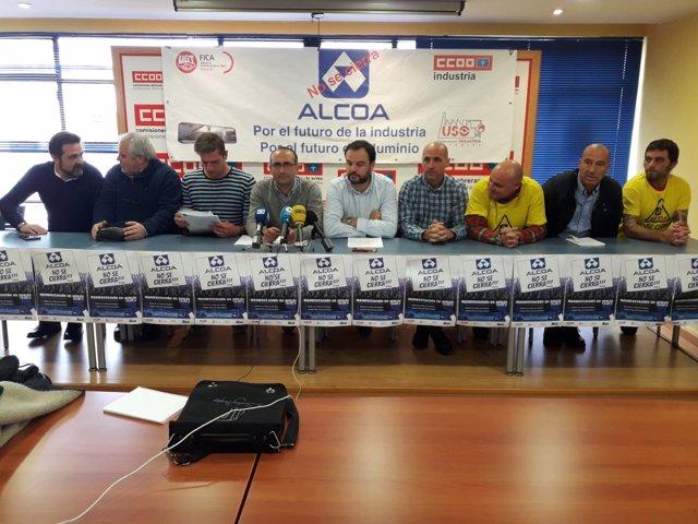 Sindicatos y comité de empresa de Alcoa