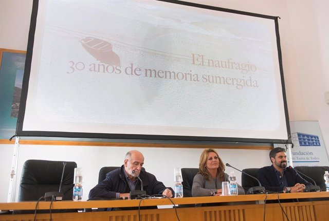 Presentación del 'El Naufragio, 30 años de memoria sumergida'