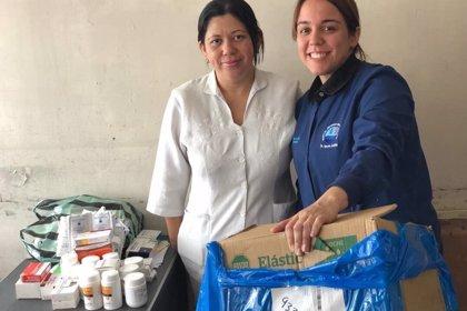 Una ONG comienza una campaña de recaudación de fondos para enviar medicamentos y alimentos a Venezuela