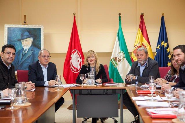 Reunión entre PSOE-A y UGT-A