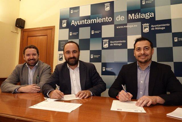 Badland y ayto de málaga firman acuerdo aceleradora de empresas en polo digital