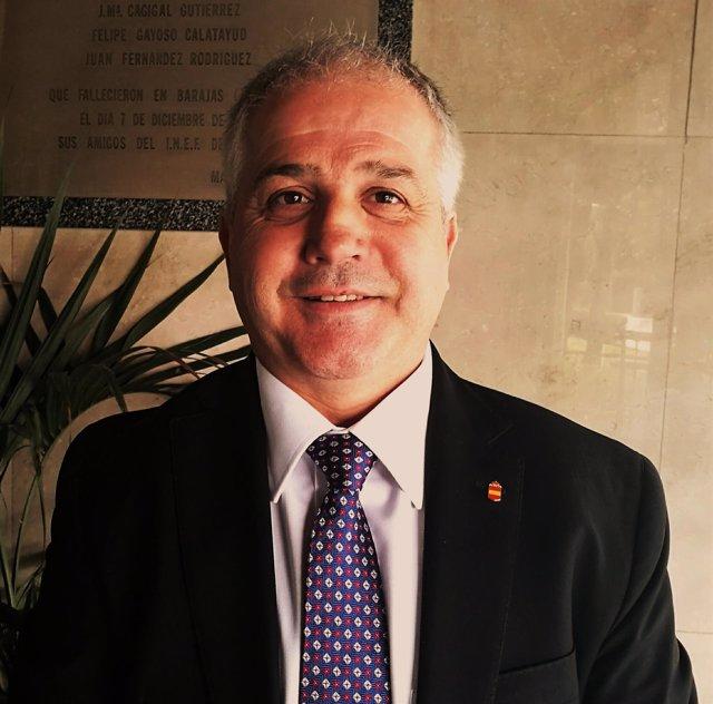 Antonio Moreno presidente Federación Española Karate