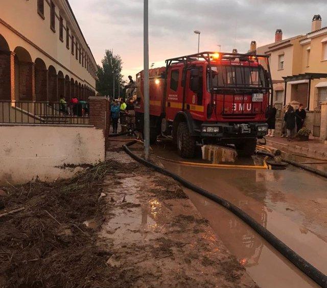 Lluvias, temporal, octubre 2018, Málaga