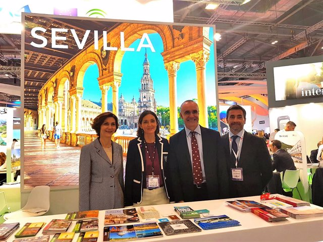 Sevilla en la World Travel Market de Londres