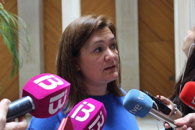 Mercedes Garrido, declaraciones a la prensa