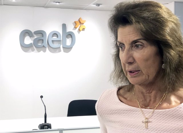 La presidentea de la CAEB, Carmen Planas