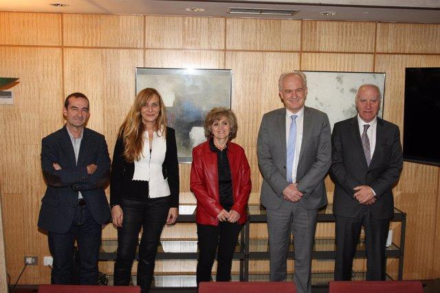 Carcedo se reúne con el Observatorio Europeo de Políticas y Sistemas Sanitarios