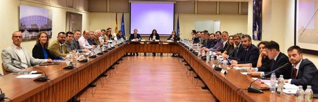 Rienda preside la  la Comisión Sectorial del Deporte