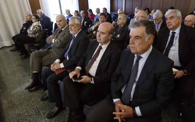 Arranca la fase final juicio ERE con Chaves y Griñán y resto acusados en sala