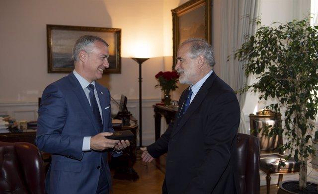 Iñigo Urkullu y Carlos Montes