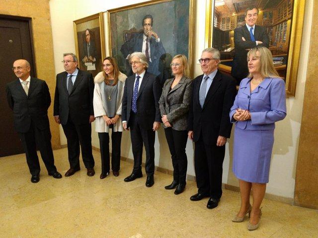 El equipo del nuevo presidente de Fomento del Trabajo, Josep Sánchez Llibre