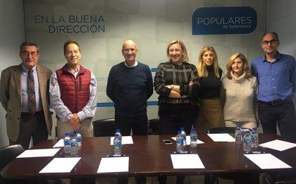 El PP coordina los trabajos preparatorios para las municipales y autonómicas de 2019 en Salamanca