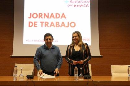 """PSOE-A presume de llegar a las elecciones andaluzas """"con los deberes hechos con el municipalismo"""""""