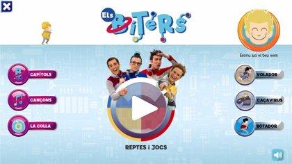 Retos educativos, juegos, videoclips y episodios en la aplicación de À Punt dedicada a Els Bíters